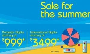 IndiGo Summer Sale
