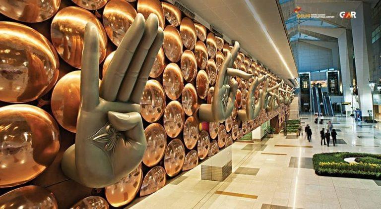 German man living at Delhi airport