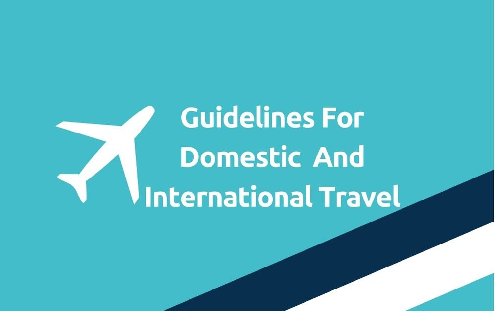 Health Ministry Issues Guidelines For Domestic & International Travel - travelobiz